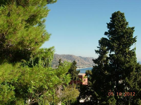 Parc Hotel Ariston & Palazzo Santa Caterina: View from hotel grounds and from our balcony