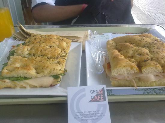 Genis Café: Turkey fococcacias