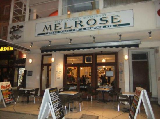 The Melrose: Outside