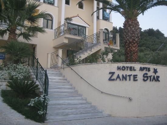 Zante Star: Hotel front