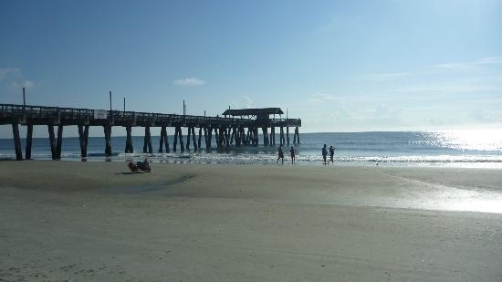 Pier pavilion picture of tybee island beach tybee for Tybee island fishing pier