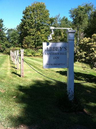 Abbey's Lantern Hill Inn: First Impressions last forever