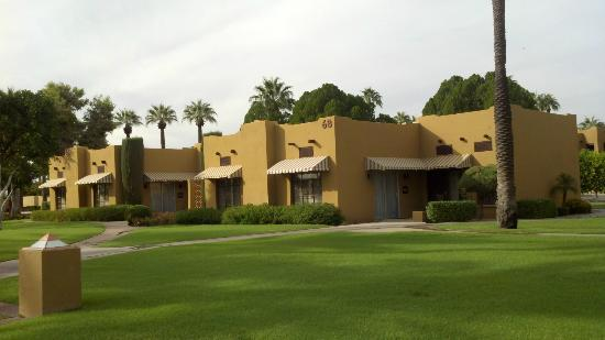 The Wigwam: Typical view of the casitas