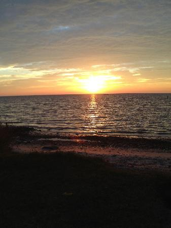 Cherrystone Family Camping Resort: sunset