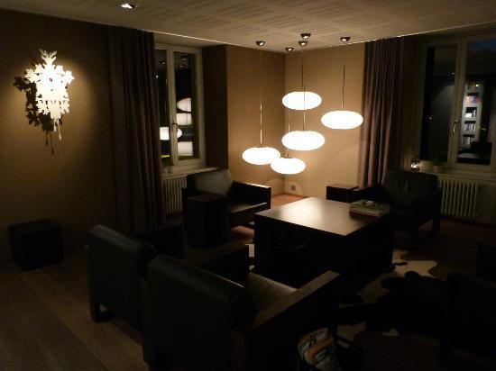 Hotel Victoria: Hotel lounge