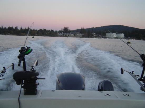 D and D Fishing Charters: heading out at 7am