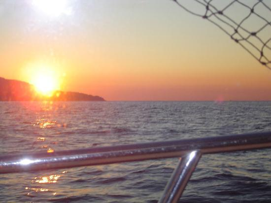 D and D Fishing Charters: sunrise off nooke