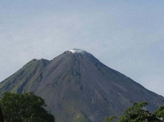 Nayara Hotel, Spa & Gardens: Arenal-view from room-breathtaking