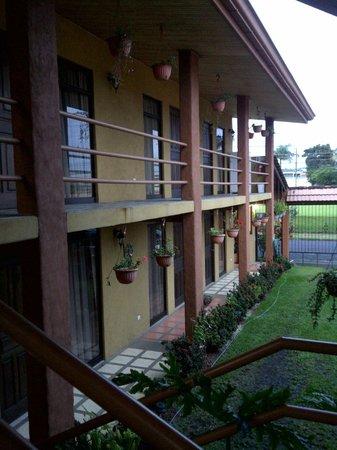 San Lorenzo Inn: Area de habitaciones