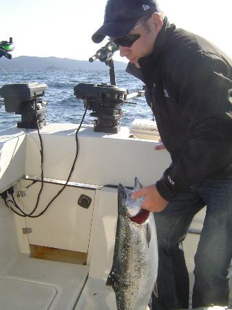 D and D Fishing Charters: coho