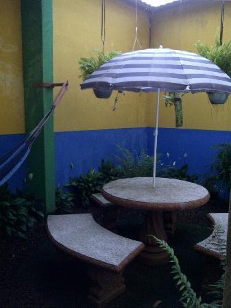 San Lorenzo Inn: Un pequeño y acogedor detalle del Hotel