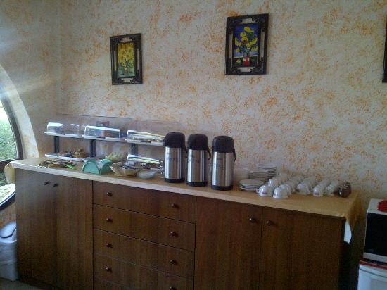 Bed and Breakfast Chalet del Mare: Buffet colazione