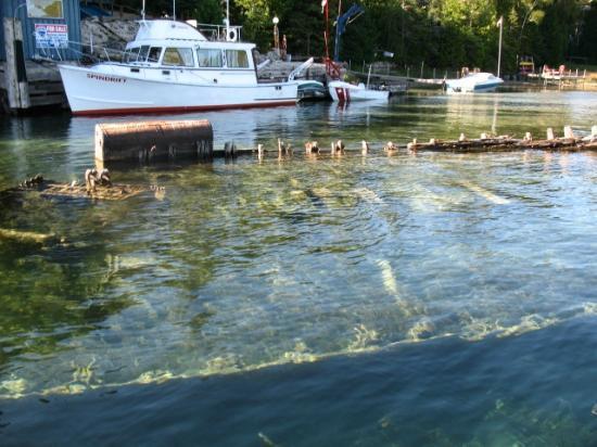 Blue Heron Cruises: Fathom Five shipwreck 2 