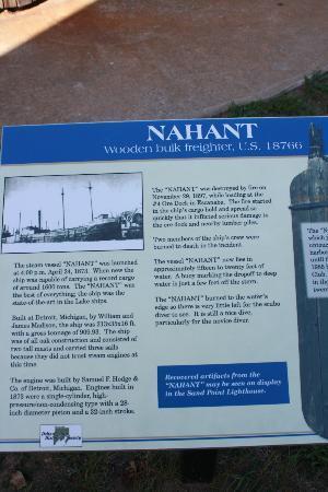 Delta County Historical Museum : Explanation plaque