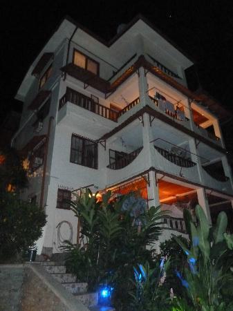 Villa Kristina Apartments: Villa Kristina vom Pool aus