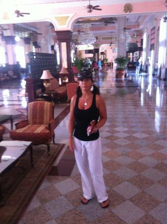 Hotel Riu Palace Riviera Maya: lobby is gorgeous