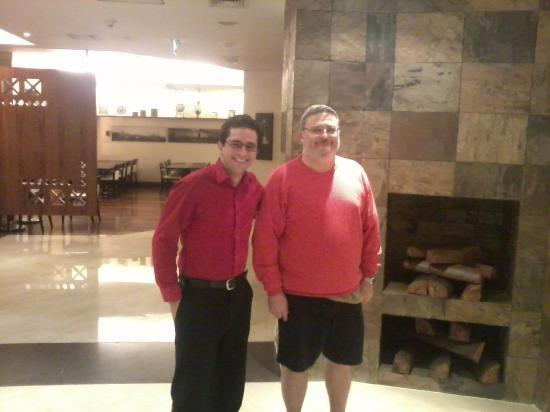 Staybridge Suites Cairo-Citystars: With my favorite recepcionist