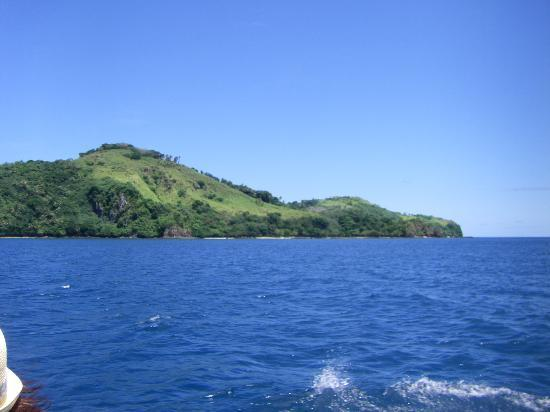 Beqa Lagoon Resort: View from dive boat