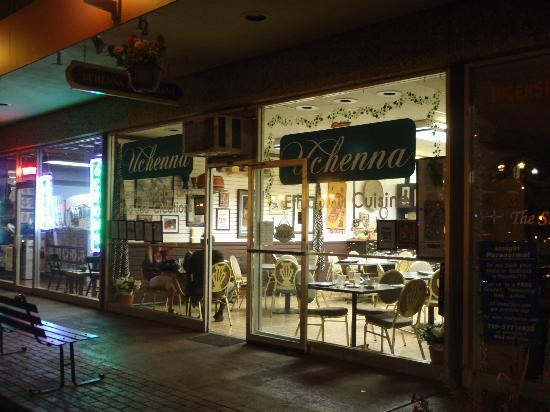 Uchenna: The restaurant