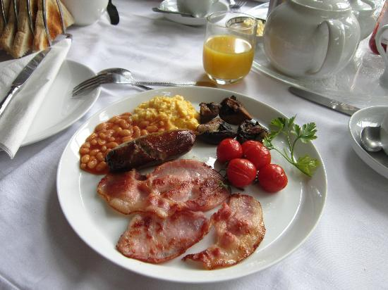 The Old Rectory: Colazione inglese