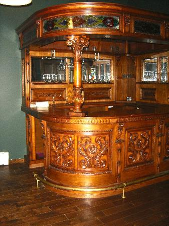 The Aud: The bar area in the prviate room upstairs. Available for reservations.