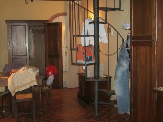 Borgo di Colleoli Resort: particolare dell'appartamento