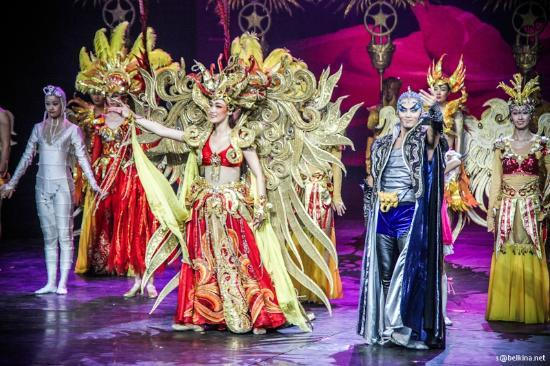 Golden Mask Dynasty Show Beijing China Hours Address