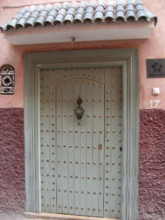 Riad les Hibiscus: At the end of a tiny street you will find the Riad
