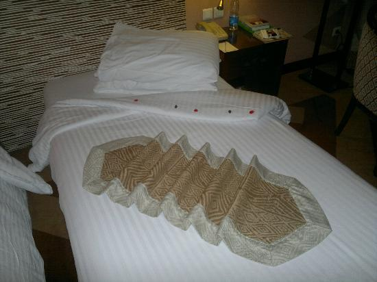 Movenpick Resort Aswan: elegant artistic touches by the housekeepers