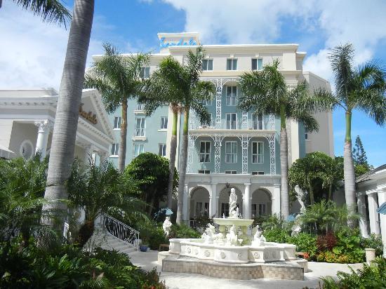 Sandals Royal Bahamian Spa Resort & Offshore Island: The newly-renovated Balmoral Tower