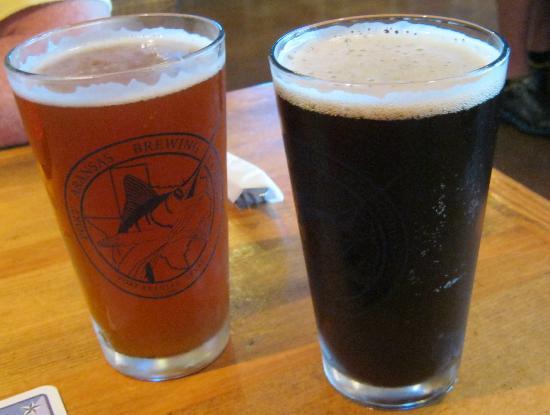 Port Aransas Brewing Company: 2 pints of their brew