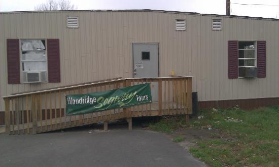 Woodridge, Estado de Nueva York: Building location (more of a trailer building).