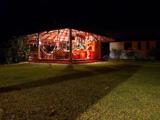 Fidelito Ranch & Lodge: Der Pavillon, der Mittelpunkt der Fidelito Ranch. 