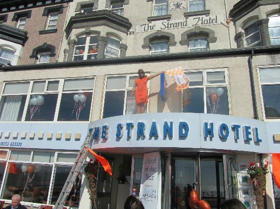 The Strand Hotel: The boss!