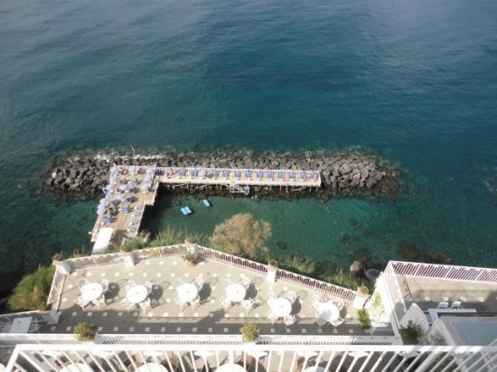 Grand Hotel Riviera: spiaggia