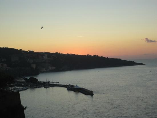Grand Hotel Riviera: sunset from room