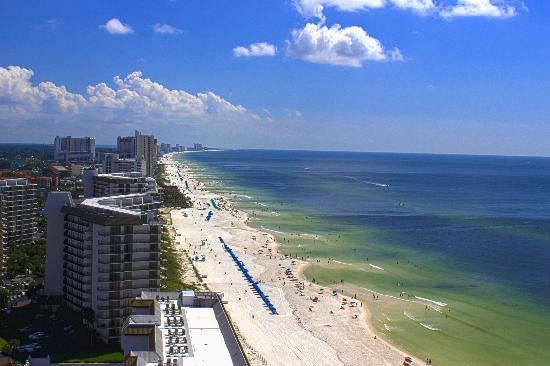 Grand Panama Beach Resort: View from the balcony.