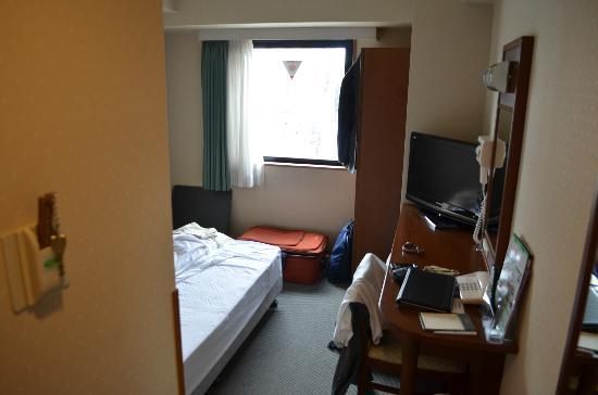 Hotel Route Inn Misawa: Room from Door