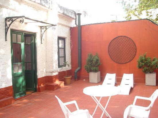 Casa Alfaro B&B: Terraza
