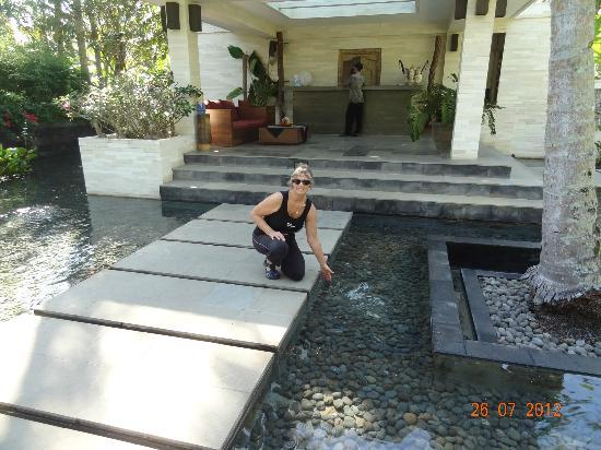 Kelapa Retreat and Spa: Reception area