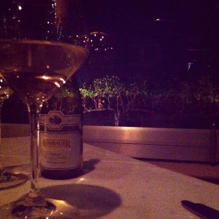 John Ash & Co Restaurant : The view of the vineyard from our table...fabulous!