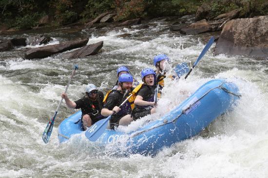 Raft One: Class 4 rapids