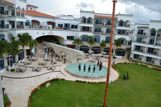 The Royal Playa del Carmen: View from our balcony