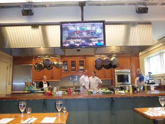 Demonstration Kitchen lowcountry cooking class with chef michelle - picture of