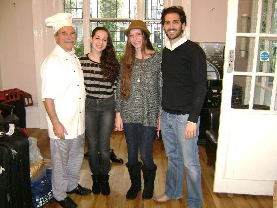 St. David's Hotels: with George the chef (which is also the owner) and Alex (his son)