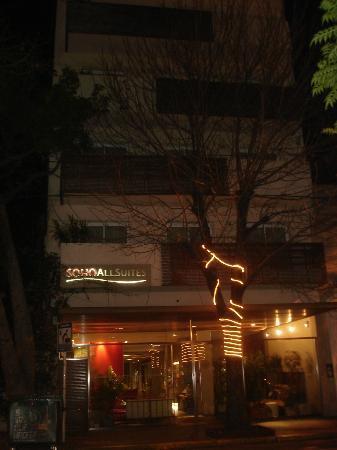 Didi Soho Hotel: Fachada do hotel