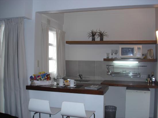 Didi Soho Hotel: Cozinha equipada