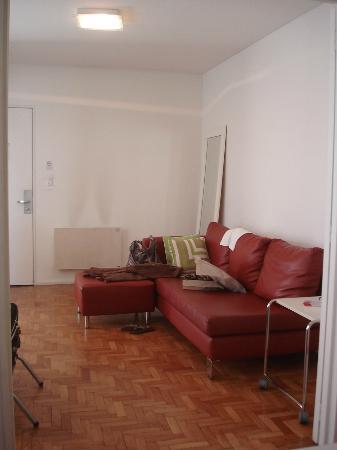 Didi Soho Hotel: Antessala do apartamento