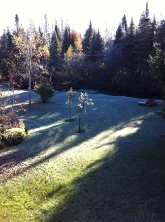 Au Ruisseau Enchante: From our balcony
