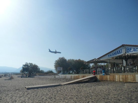 Kalamaki, Grecia: Arrival at the Airport.